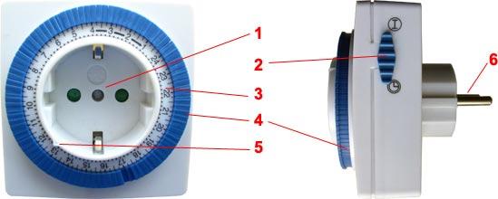 электрический таймер розетка инструкция - фото 8